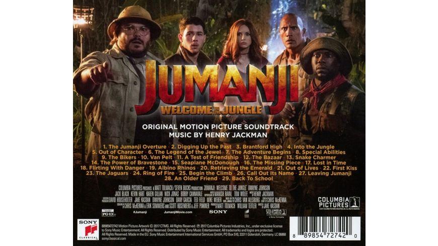 Jumanji Willkommen im Dschungel OST