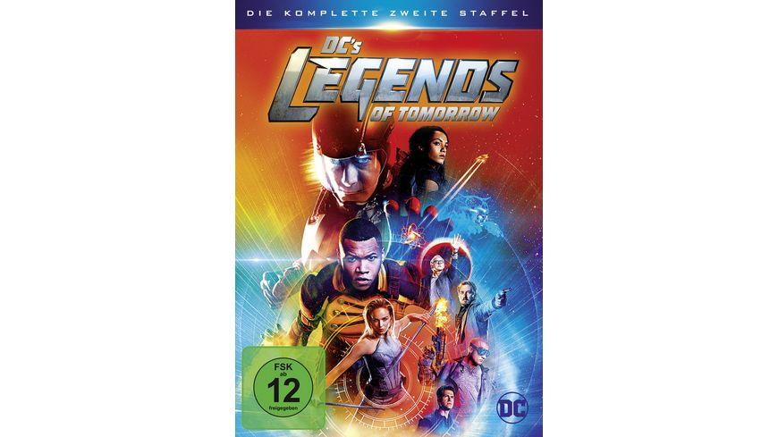 DC s Legends of Tomorrow Die komplette 2 Staffel 4 DVDs