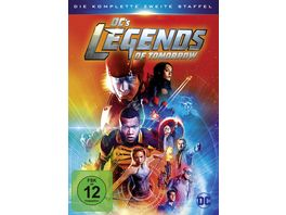 DC s Legends of Tomorrow Die komplette 2 Staffel 4 DVDs