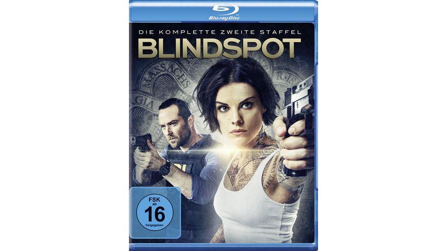 Blindspot Die komplette 2 Staffel 4 BRs