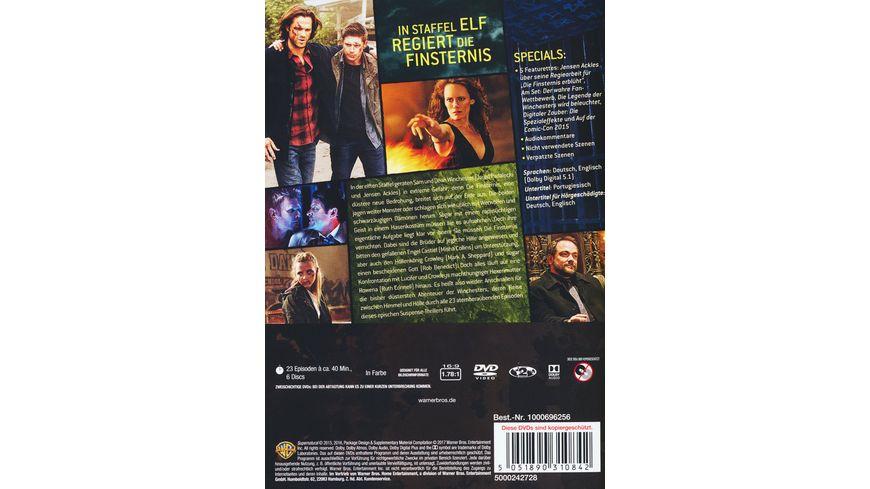 Supernatural Staffel 11 6 DVDs