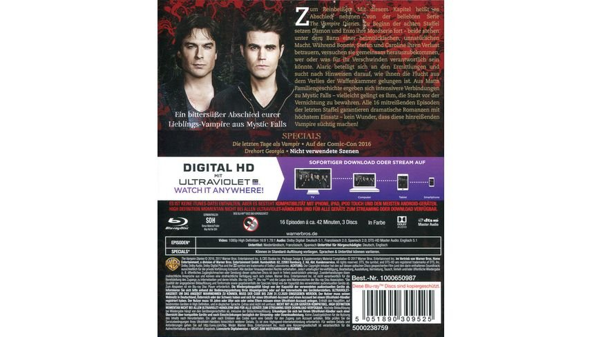 The Vampire Diaries Staffel 8 3 BRs