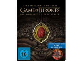 Game of Thrones Staffel 7 Steelbook Conquest und Rebellion Bonus Disc 3 BRs