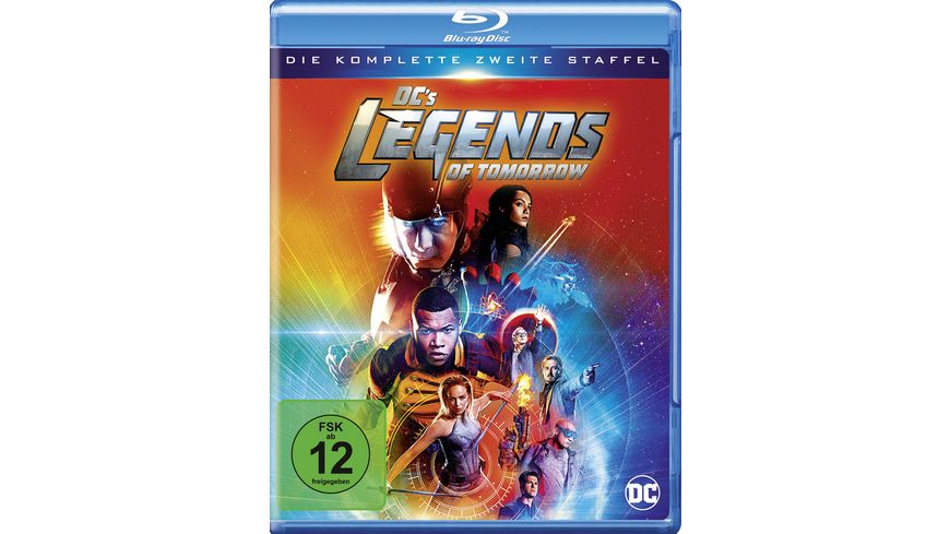 DC s Legends of Tomorrow Die komplette 2 Staffel 3 BRs