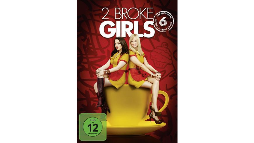 2 Broke Girls Staffel 6 2 DVDs