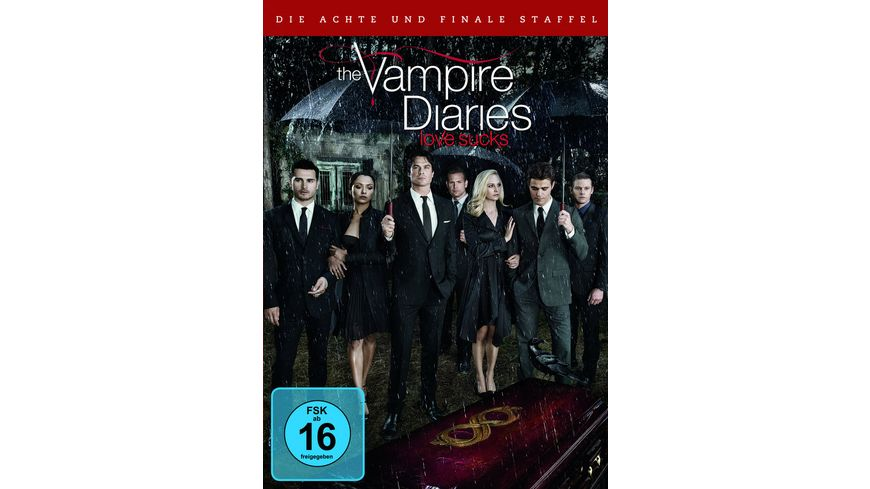 The Vampire Diaries Staffel 8 3 DVDs