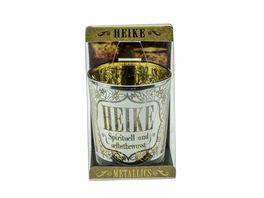 H H Metallics Kerze Heike