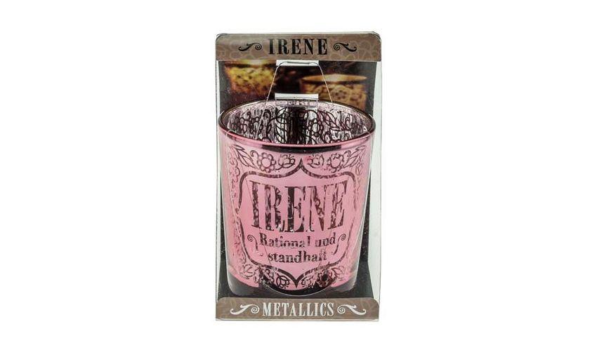 H H Metallics Kerze Irene