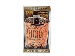 H H Metallics Kerze Heidi