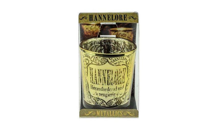 H H Metallics Kerze Hannelore