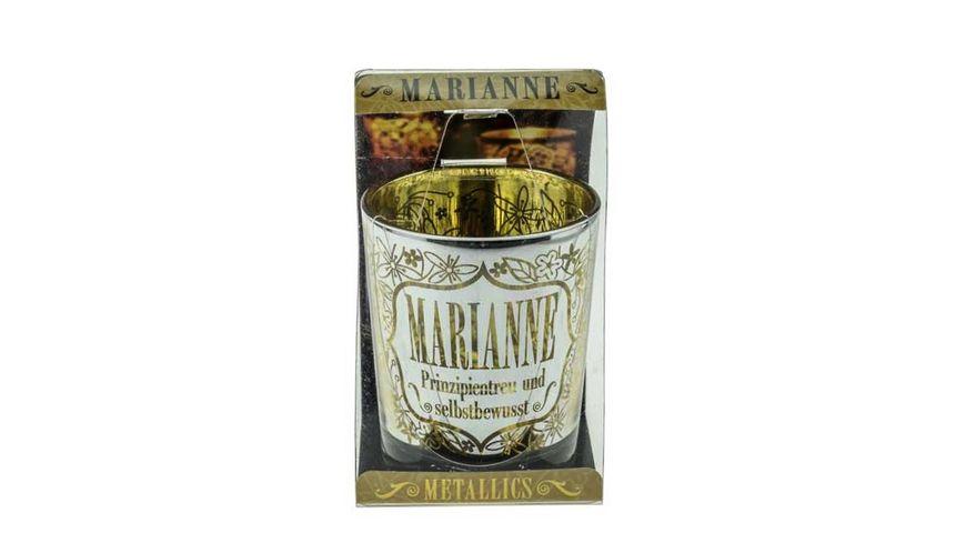 H H Metallics Kerze Marianne