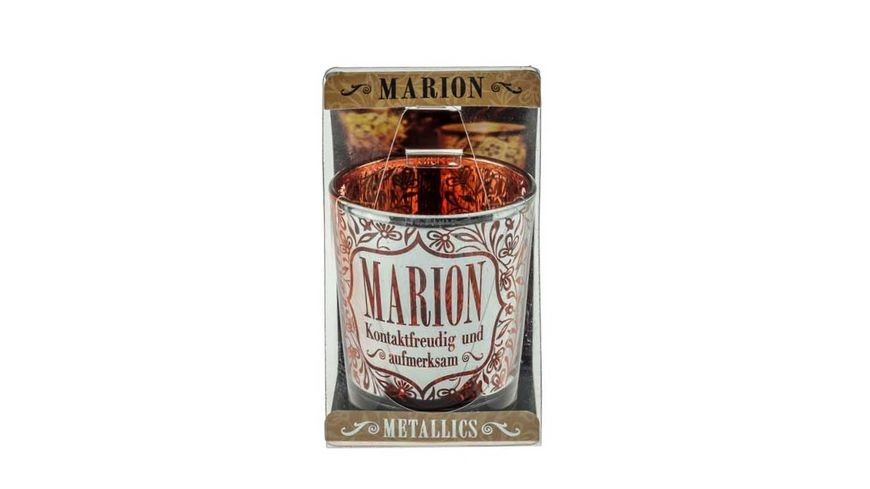 H H Metallics Kerze Marion