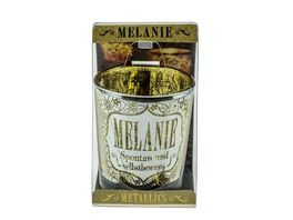 H H Metallics Kerze Melanie