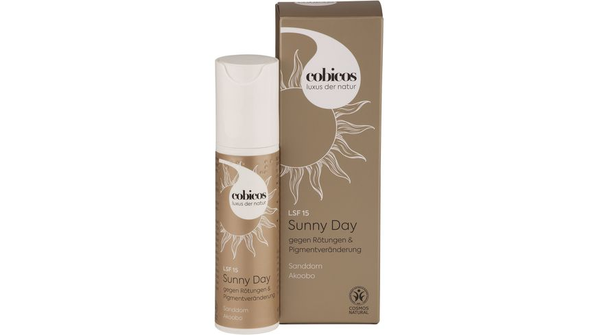 Cobicos Sunny Day Tagescreme mit LSF 15
