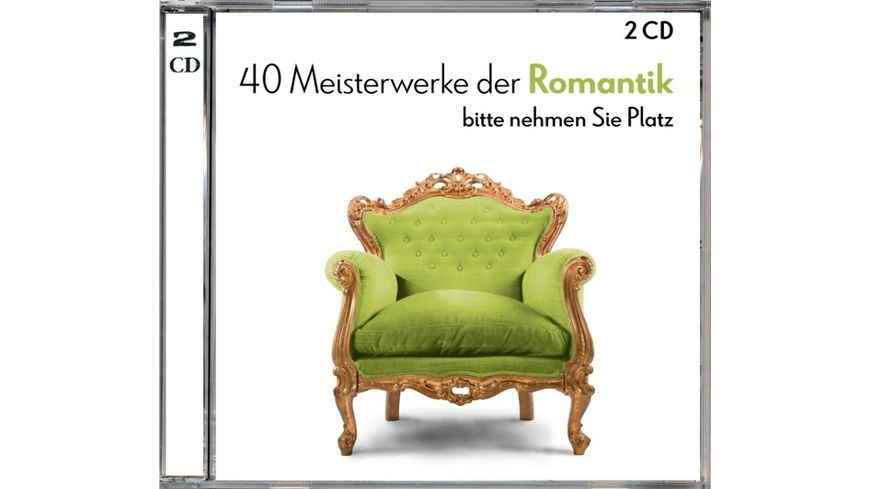 40 Meisterwerke Der Romantik