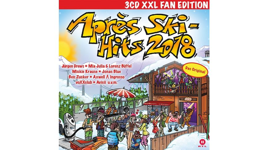 Apres Ski Hits 2018 XXL Fan Edition