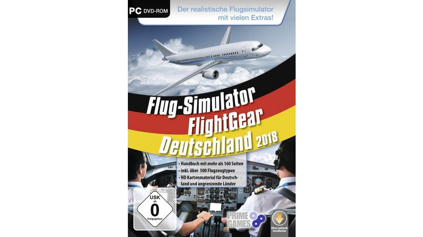 Flight Gear Flugsimulator 2018
