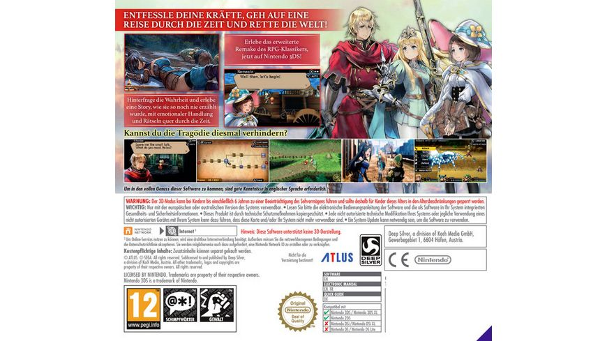 Radiant Historia Perfect Chronology