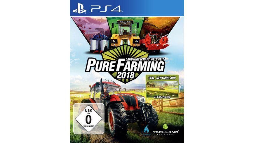 Pure Farming 2018 Landwirtschaft Weltweit D1
