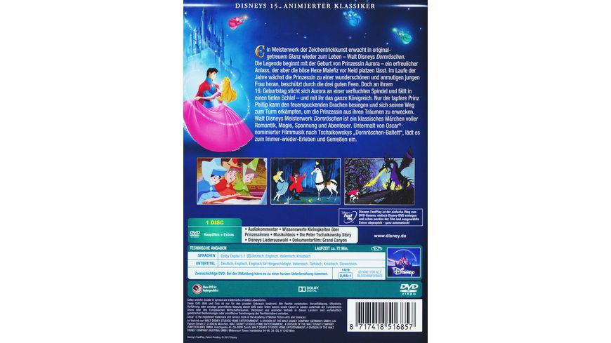 Dornroeschen Disney Classics 15