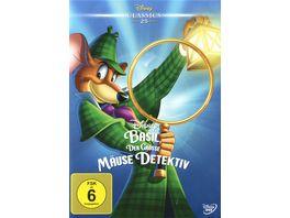 Basil Der grosse Maeusedetektiv Disney Classics