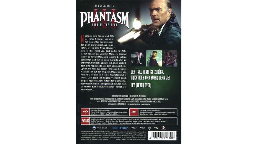 Phantasm III Das Boese III Mediabook Version B DVD Bonus DVD