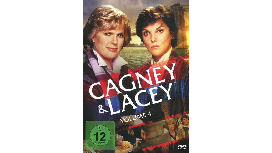 Cagney Lacey Volume 4 6 DVDs