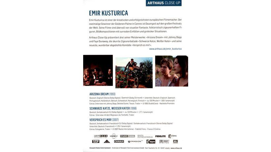 Emir Kusturica 3 DVDs