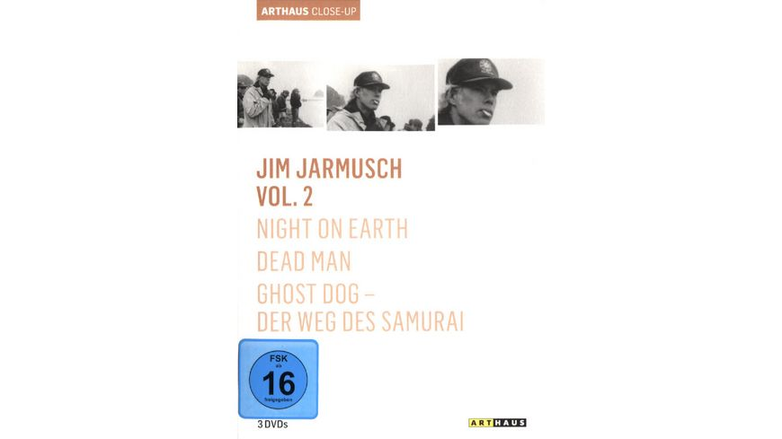 Jim Jarmusch Collection Vol 2 3 DVDs