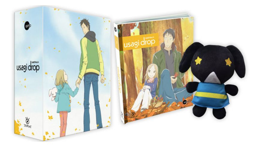 Usagi Drop Vol 1 Limited Mediabook inkl Plueschhase Sammelschuber