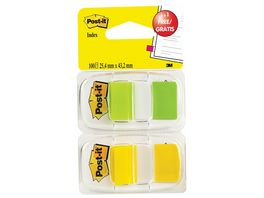 Post it Haftstreifen Index 1 Spender a 50 Blatt 1 Gratis Spender