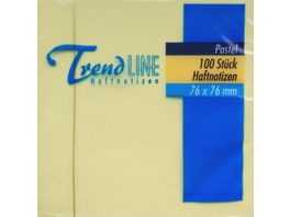 Trendline Haftnotiz Notes 100 Blatt 76 x 76 mm