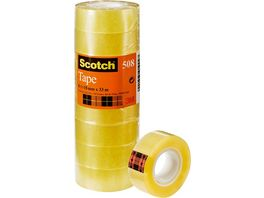 Scotch Klebeband Transparent 508