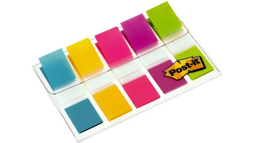 Post It Haftmarker im Etui 5x 20 Stck