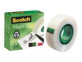 Scotch Klebeband Magic 810 unsichtbar und beschriftbar
