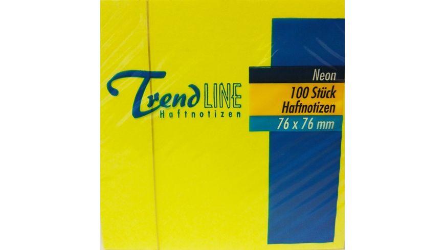 Trendline Haftnotiz Neon Notes 1 x 100 Blatt sortiert