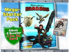 Panini Dragons Mega Starter Pack