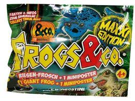De Agostini Frogs Co Maxxi Edition 1 XXL Riesenfrosch 1 Miniposter Blindpack