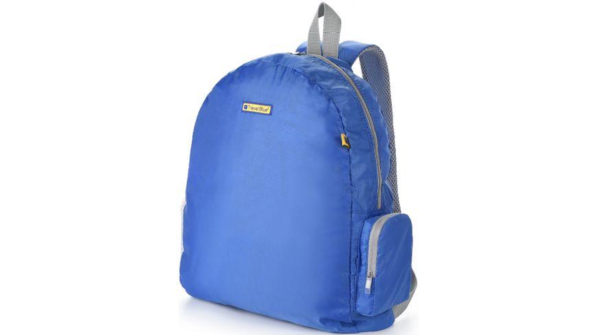 TravelBlue Rucksack faltbar schwarz oder blau
