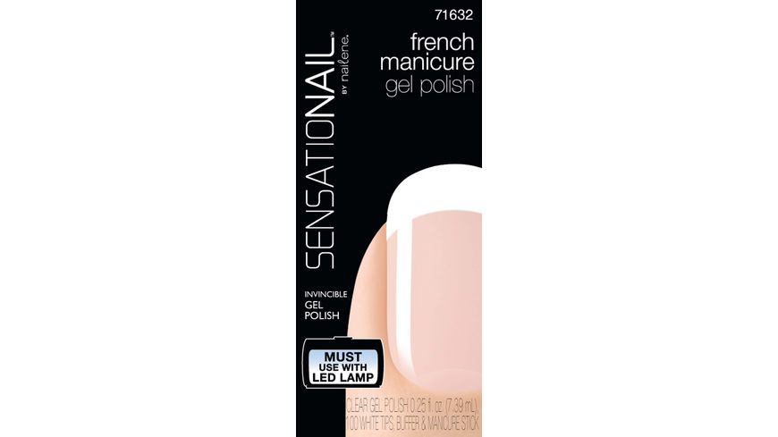 SENSATIONAIL Gel Polish French Manicure