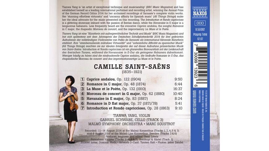Werke fuer Violine und Orchester