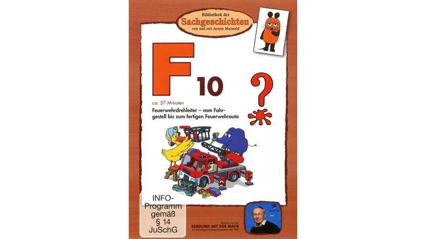 F10 Feuerwehrdrehleiter Bibliothek der Sachgeschichten