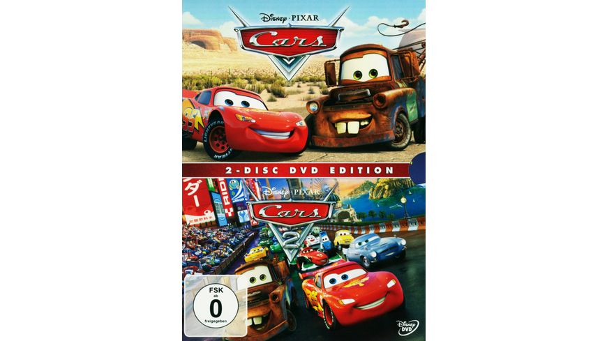 Cars 1 2 Collection 2 DVDs