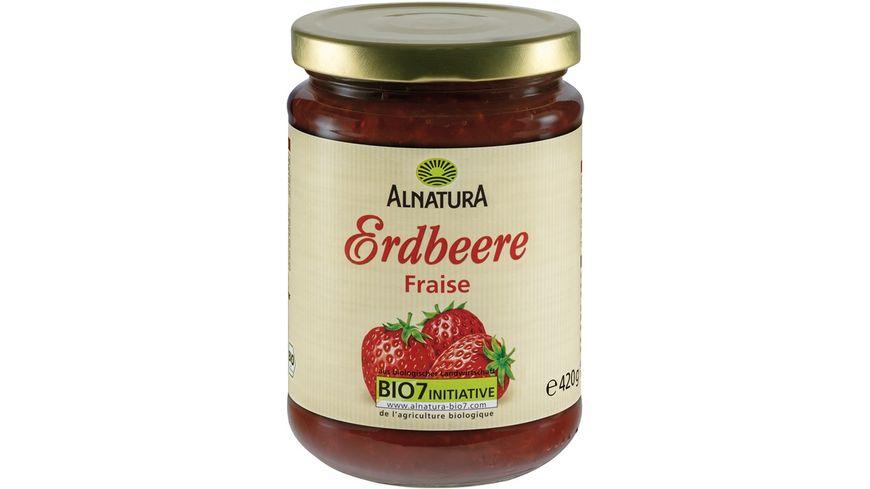 Alnatura Fruchtaufstrich Erdbeere, 420g