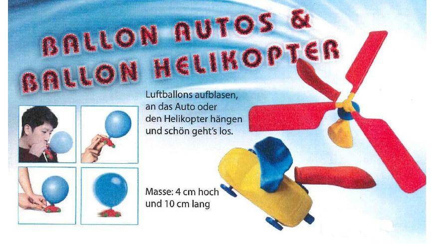 Gutoys Ballonauto Ballonhelikopter sortiert