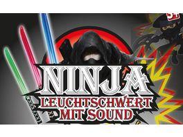 Gutoys Ninja Leuchtschwert mit Sound 66 cm sortiert