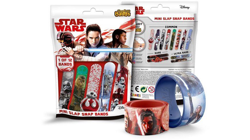 CRAZE Star Wars Episode 8 Slap Snap Bands 1 von 12 Blindpack