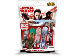 CRAZE Star Wars Episode 8 Slap Snap Bands 1 von 12 Blindpack