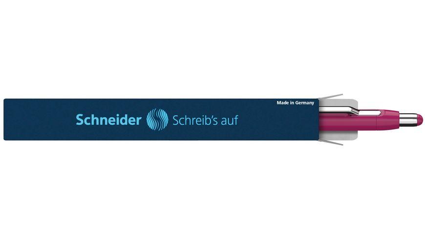Schneider Kugelschreiber Epsilon XB boysenberry Mine blau