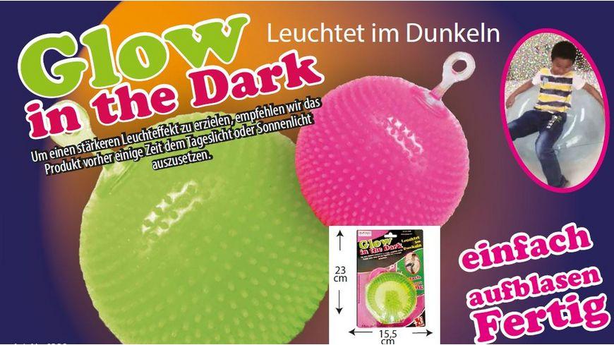 Gutoys Big Baloon Glow in the Dark 80 cm sortiert